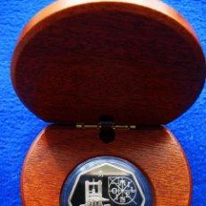 Monedas FNMT: MONEDA CONMEMORATIVA DE PLATA. DISEÑO OCTOGONAL. 1.500 PESETAS. AÑO 2000. MILENIO. IMPRENTA. Lote 164884182