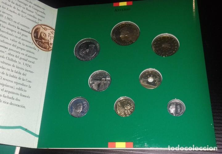 Monedas FNMT: Colección de Monedas Españolas de Curso legal. Pruebas Numismáticas Acuñaciones del 93 FNMT - Foto 2 - 165266242