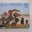 Monedas FNMT: CARTERA OFICIAL DE MONEDAS DE EURO NO CIRCULADAS - WORLD MONEY FAIR AÑO 2008 - 1169/1500 UNIDADES. Lote 167390382