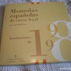 Monedas FNMT: COLECCION DE MONEDAS ESPAÑOLAS DE CURSO LEGAL AÑO 1998 FNMT. Lote 168998732