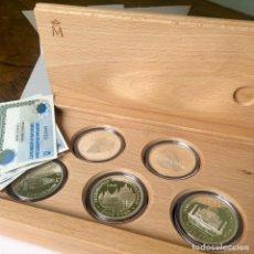 Monedas FNMT: PROOF SET DE PLATA DE LA FNMT DEL PATRIMONIO MUNDIAL, UNESCO 1996. Lote 169981224