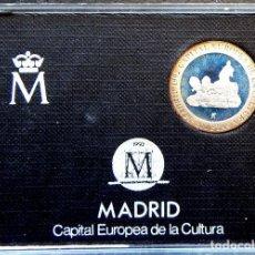 Monedas FNMT: ESPAÑA JUAN CARLOS I *200 PESETAS PLATA*MADRID AÑO 1992 LA CIBELES EN CAPSULA Y CERTIFICADO. Lote 170941065