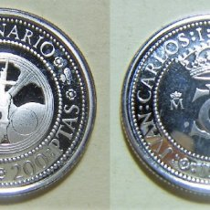 Monedas FNMT: MONEDA DE 200 PESETAS 1989 QUINTO CENTENARIO PLATA 3,20GR. Lote 268961394