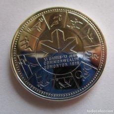 Monedas FNMT: CANADA . UN DOLAR DE PLATA ANTIGUO . AÑO 1978 .EDMONTON . JUEGOS DE 1978 . SIN CIRCULAR. Lote 242862800