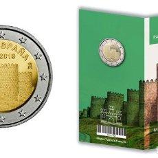 Monedas FNMT: ÁVILA PATRIMONIO MUNDIAL. FNMT. 2 EURO. 2019. CARTERA NUMERADA. PROOF. Lote 171986133