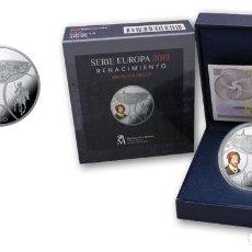 Monedas FNMT: PROGRAMA EUROPA. RENACIMIENTO. FNMT-RCM. 10 EURO. 2019. PLATA. PROOF. Lote 171986143
