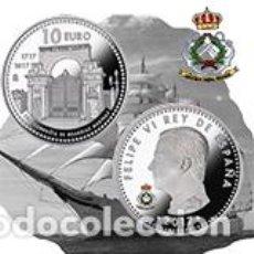 Monedas FNMT: 300 ANIVERSARIO REAL COMPAÑÍA DE GUARDIAMARINAS. FNMT-RCM. 10 EURO (8 REALES). 2017. PLATA. PROOF. Lote 171986238