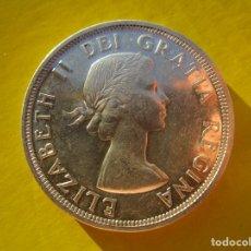 Monedas FNMT: CANADA . UN DOLAR DE PLATA ANTIGUO . AÑO 1953 . CALIDAD SIN CIRCULAR. Lote 173539485