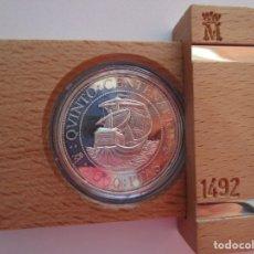 Monedas FNMT: V CENTENARIO . 5000 PESETAS DE PLATA . AÑO 1989 . CONSERVACION PERFECTA. Lote 173967903