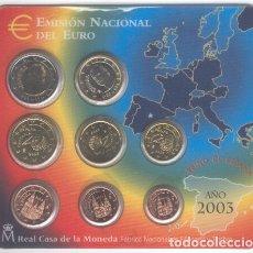 Monedas FNMT: BLISTER ESPAÑA EUROS 2003. Lote 174249000
