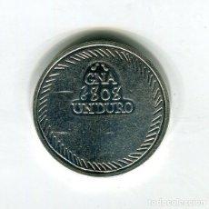 Monedas FNMT: FERNANDO VII UN DURO CECA GERONA AÑO 1808 - REPRODUCCION DE LA FNMT BAÑADA EN PLATA - 33 MM.. Lote 174844170