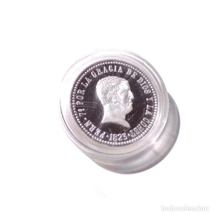 Monedas FNMT: FERNANDO VI. 1823 4 REALES. EMISIÓN DE LA FÁBRICA NACIONAL DE MONEDA. 13GR 3,2 CM DIÁMETRO.PLATA 999 - Foto 2 - 175226863
