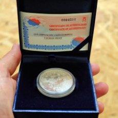 Monedas FNMT: MONEDA DE ESPAÑA DE PLATA DE 10 EUROS. AMPLIACIÓN UNIÓN EUROPEA (2004). FNMT. Lote 175442263