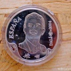 Monedas FNMT: MONEDA DE ESPAÑA DE PLATA DE 10 EUROS. DALI. AUTORRETRATO BLANDO CON BEICON FRITO (2004). FNMT. Lote 175443030
