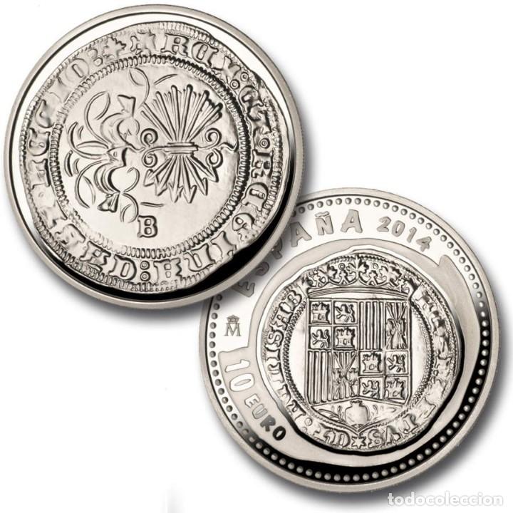[CF1426] ESPAÑA 2014, JOYAS NUMISMÁTICAS V (REYES CATÓLICOS). PLATA (FDC) (Numismática - España Modernas y Contemporáneas - FNMT)