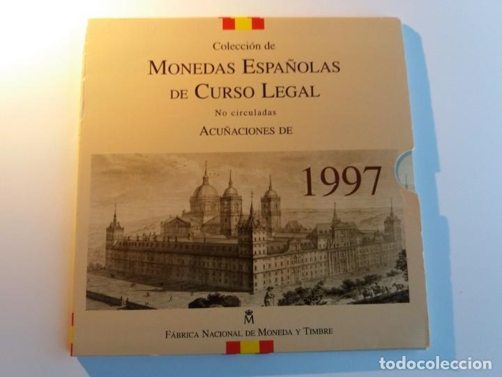 ESPAÑA. FNMT CARTERA OFICIAL PESETAS 1997. SIN CIRCULAR SC. (Numismática - España Modernas y Contemporáneas - FNMT)