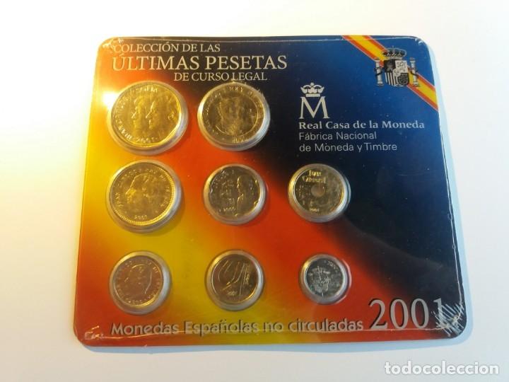 ESPAÑA. FNMT CARTERA OFICIAL PESETAS 2001. SIN CIRCULAR SC. (Numismática - España Modernas y Contemporáneas - FNMT)