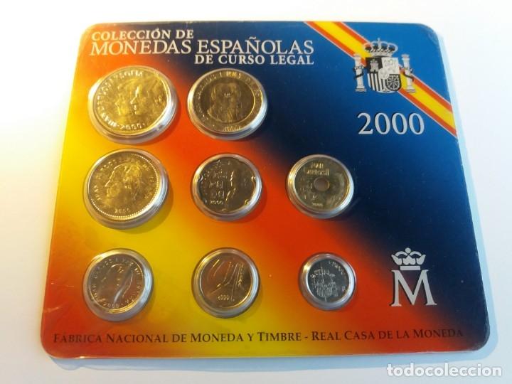 ESPAÑA. FNMT CARTERA OFICIAL PESETAS 2000. SIN CIRCULAR SC. (Numismática - España Modernas y Contemporáneas - FNMT)