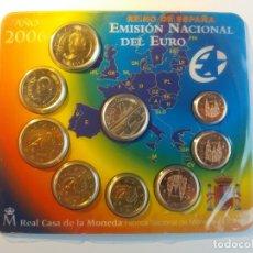 Monedas FNMT: ESPAÑA. FNMT CARTERA OFICIAL EUROS 2006. ADHESIÓN. SIN CIRCULAR SC.. Lote 177316054