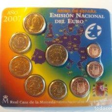 Monedas FNMT: ESPAÑA. FNMT CARTERA OFICIAL EUROS 2007. SIN CIRCULAR SC. TRATADO DE ROMA. Lote 177316147