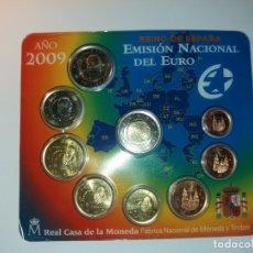 Monedas FNMT: ESPAÑA. FNMT CARTERA OFICIAL EUROS 2009. SIN CIRCULAR SC. EMU. Lote 177316182
