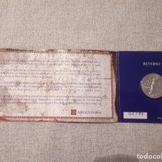 Monedas FNMT: MONEDA PLATA 500 ANIVERSARIO DESCUBRIMIENTO TIERRA FIRME VENEZUELA – AÑO 1998 - 3€. Lote 178649551