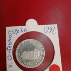 Monedas FNMT: 1992 500 PESETAS PLATA V CENTENARIO ESPAÑA JUAN CARLOS I PROFF. Lote 178946826