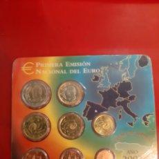 Monedas FNMT: 2002 ESPAÑA CARTERA SET EUROS FNMT EUROS. Lote 179833102