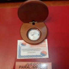 Monedas FNMT: ESPAÑA AÑO 2.000 JUEGOS PARALÍMPICOS ATLETISMO SILLA RUEDAS 1.000 PESETAS PLATA PROOF. Lote 182665526