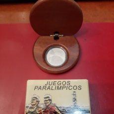 Monedas FNMT: ESPAÑA AÑO 2.000 JUEGOS PARALÍMPICOS ATLETISMO PARA CIEGOS 1.000 PESETAS PLATA POR LLAMA OLÍMPICA. Lote 182665825