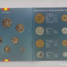 Monete FNMT: CARTERA OFICIAL NUMERADA DE LA FNMT MONEDAS DE CURSO LEGAL DE JUAN CARLOS I DE 1999. SIN CIRCULAR. Lote 182987587