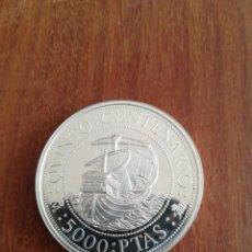 Monedas FNMT: 5000 PESETAS 1989 ESPAÑA PLATA . Lote 183374886