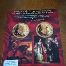 Monedas FNMT: UN PROSPECTO FNMT MOTIVO CASA DE LOS ASTURIAS, CASA DE LOS BORBONES. Lote 183877942