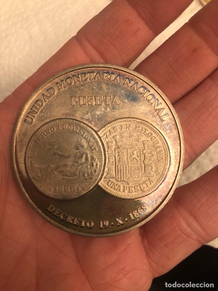 Monedas FNMT: Lote de 5 medallas en plata de ley FNMT, 210 gramos - Foto 5 - 186015447