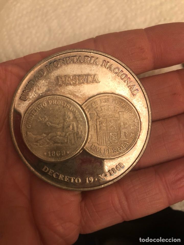 Monedas FNMT: Lote de 5 medallas en plata de ley FNMT, 210 gramos - Foto 7 - 186015447
