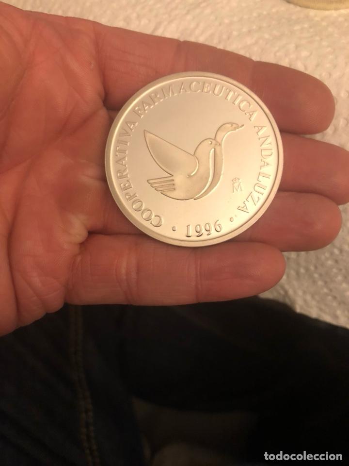 Monedas FNMT: Lote de 5 medallas en plata de ley FNMT, 210 gramos - Foto 10 - 186015447