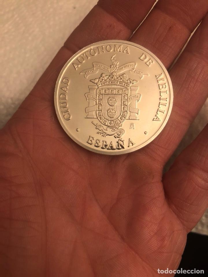 Monedas FNMT: Lote de 5 medallas en plata de ley FNMT, 210 gramos - Foto 13 - 186015447
