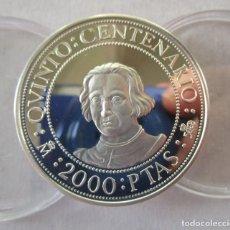 Monete FNMT: 2000 PESETAS DEL V CENTENARIO . AÑO 1989 . TOTALMENTE NUEVA. Lote 257380005