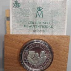 Monedas FNMT: ESPAÑA. AÑO 1990. 5000 PTAS PLATA II SERIE V CENTENARIO. . Lote 190275638