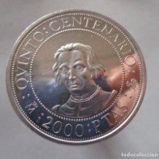 Monedas FNMT: 2000 PESETAS DEL CENTENARIO . AÑO 1989 . CALIDAD SIN CIRCULAR. Lote 191382612