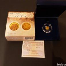 Monedas FNMT: MONEDA 20 EUROS ORO 2009 ESTUCHE CON CERTIFICADO CALIDAD PROOF. Lote 191397030