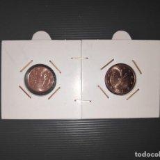 Monedas FNMT: ANDORRA 1 Y 2 CENT. DE EURO (EUROCENT) AÑO 2019. S/C. - ENCARTONADAS. Lote 191502306