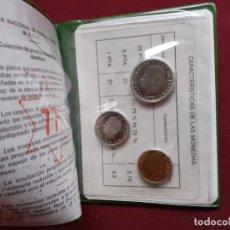 Monete FNMT: CARTERA CON 3 MONEDAS. ESTRELLA 77. Lote 194494810