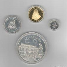 Monedas FNMT: JUEGO COMPLETO DE ECU 1994- ORO Y PLATA-PROF. Lote 195202288