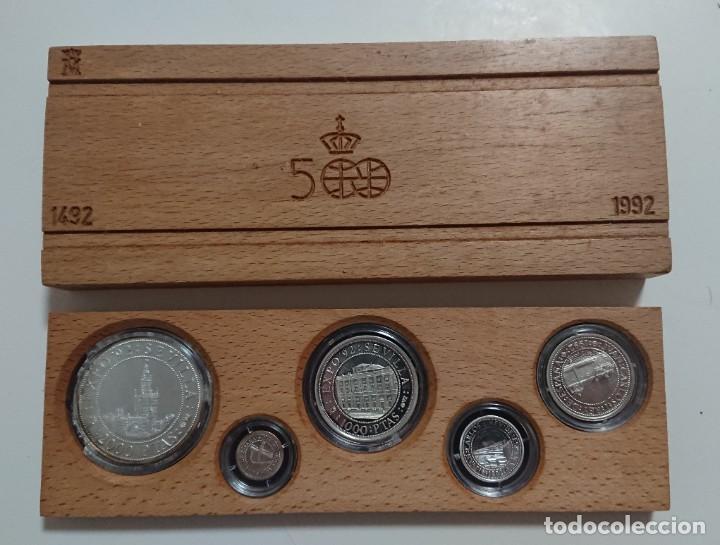V CENTENARIO 1992 FABRICA DE MONEDA Y TIMBRE PLATA (Numismática - España Modernas y Contemporáneas - FNMT)
