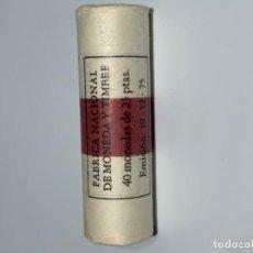 Monedas FNMT: FNMT CARTUCHO PRECINTADO 40 MONEDAS 25 PESETAS *76. S/C. PERFECTO.. Lote 196916965