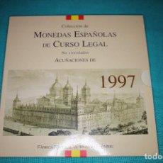 Monedas FNMT: ESPAÑA, ESTUCHE JUAN CARLOS I FNMT 1997 SERIE DE 8 VALORES EN FDC. Lote 197244727