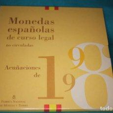 Monedas FNMT: ESPAÑA, ESTUCHE JUAN CARLOS I FNMT 1998 SERIE DE 8 VALORES EN FDC. Lote 197244746