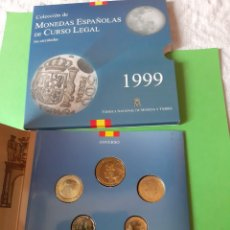 Monedas FNMT: FDC ESPAÑA ESTUCHE 1999 FABRICA MONEDA TIMBRE CURSO LEGAL NUMERADA. Lote 198389456