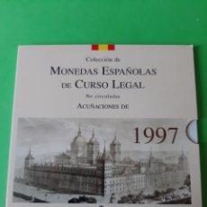 Monedas FNMT: FDC ESPAÑA ESTUCHE 1997 SERIE 8 VALORES FNMT NUMERADA. Lote 198390621
